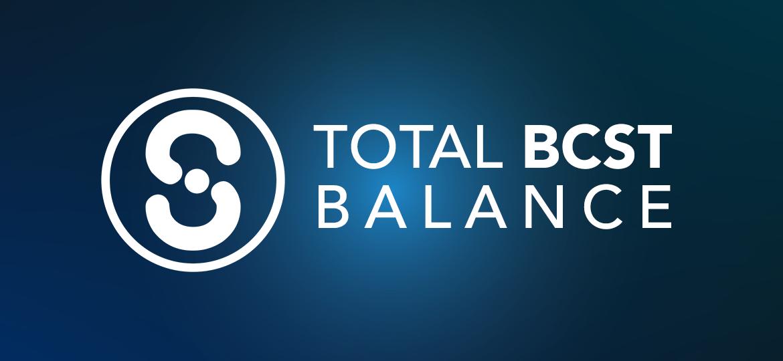 Total BCST Balance